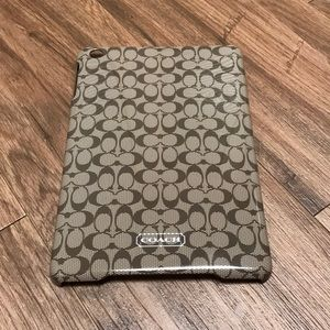 Coach iPad mini case